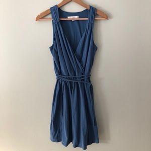 LOFT: V-neck dress